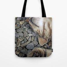Ecstatic cat Tote Bag