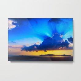 Angel sky Metal Print