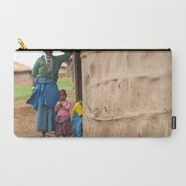 Village Life Carry-All Pouch