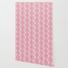 Candy cane flower pattern 7 Wallpaper