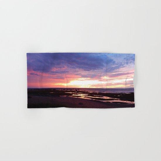 Cloudy Sunset Hand & Bath Towel