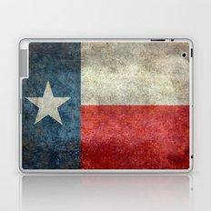 Texas state flag, vintage banner Laptop & iPad Skin