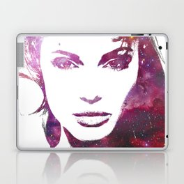 Jolie - Women of the Universe - Digital Art Poster Print of Angelina Jolie Laptop & iPad Skin