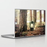 camping Laptop & iPad Skins featuring camping by katelyndee