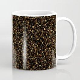Astrocytes in Warm Colors Coffee Mug