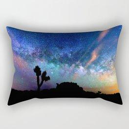 Colorful milky way Rectangular Pillow