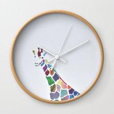 Show Your Real Spots - Giraffe Wall Clock