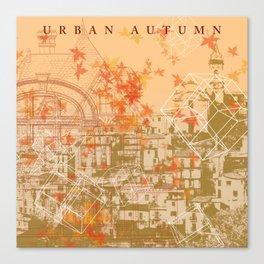 Urban Autumn Canvas Print