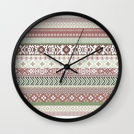 Positively inclined Wall Clock