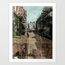 Amsterdam Streets Art Print