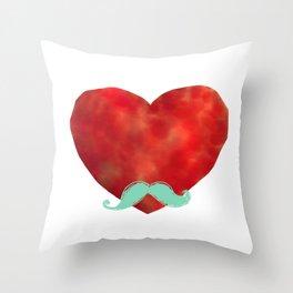 Heart like a sir Throw Pillow