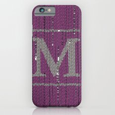 Winter clothes II. Letter M Slim Case iPhone 6s