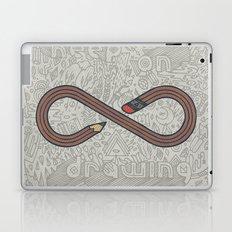 Keep Drawing Laptop & iPad Skin