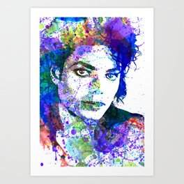Michael Jacksons Art Print