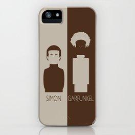 Simon And Garfunkel iPhone Case