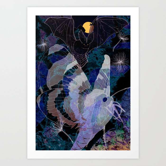 Dark Summer Art Print