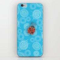 ladybug iPhone & iPod Skins featuring Ladybug by JoonMoon