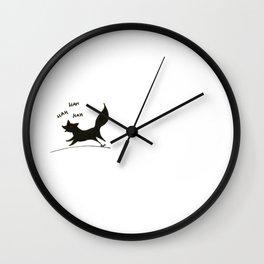 Run fox, run Wall Clock