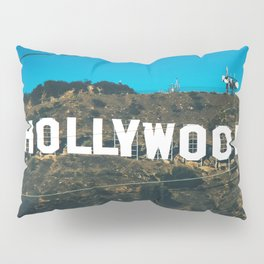 The Hollywood Sign Pillow Sham