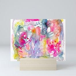 Colorful Chaos Mini Art Print