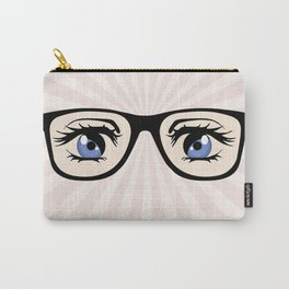 Manga glasses Carry-All Pouch
