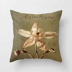 Aquilegia Too Throw Pillow