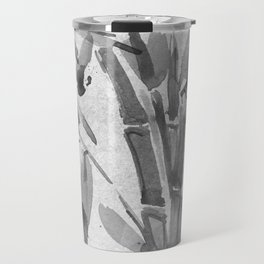 Bamboo Tree Watercolor Travel Mug