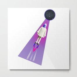 Baby rocket Metal Print