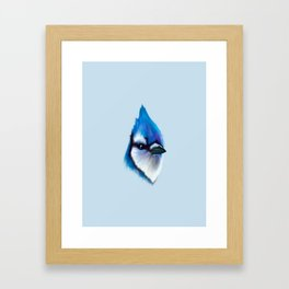 The Blue Jay Framed Art Print