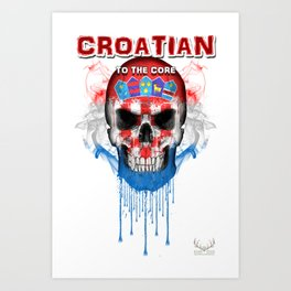 To The Core Collection: Croatia Art Print