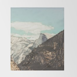 Half Dome Peek Throw Blanket