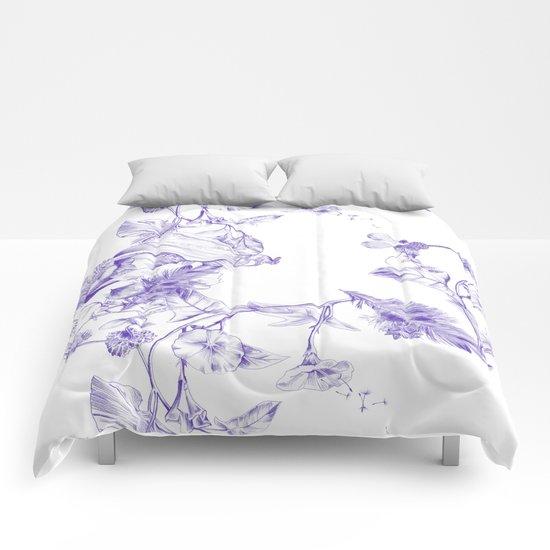 Jeweled Botanist Comforters