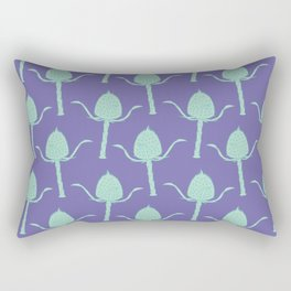 Wild Teasel Pattern Rectangular Pillow