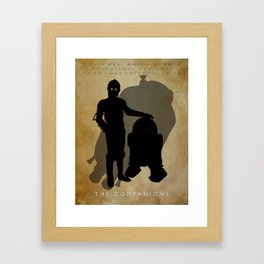 The Companions Framed Art Print