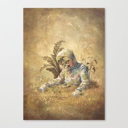 Desert Astronaut Canvas Print