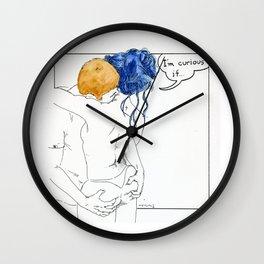 NUDEGRAFIA - 52 I'm curious if... Wall Clock