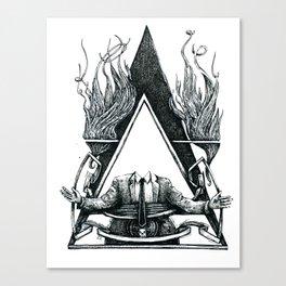 Look at this Asshole Canvas Print