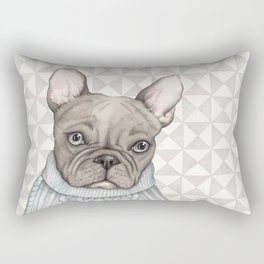 French style - French Bulldog Rectangular Pillow