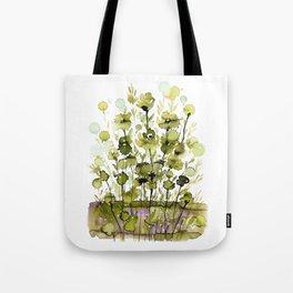 Floral Charm No.1H by Kathy Morton Stanion Tote Bag
