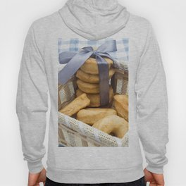 Croissant and Donut composition Hoody