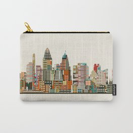 Cincinnati Ohio skyline Carry-All Pouch