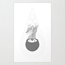 Ocular Witch Doctor Art Print