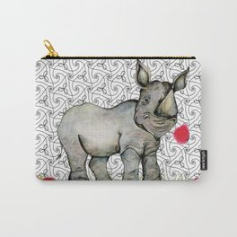 Rhino Love Carry-All Pouch