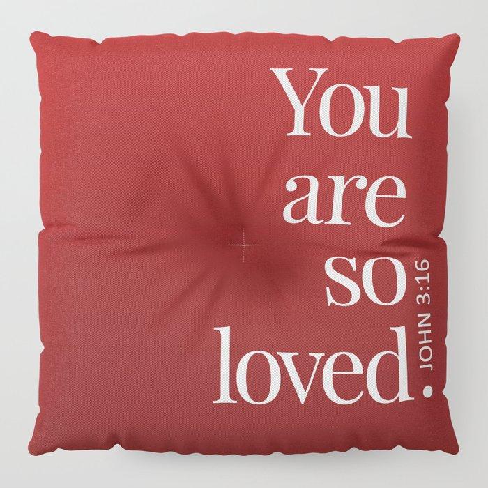 So Loved Floor Pillow