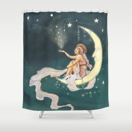It's In The Stars – Gypsy Moon Shower Curtain