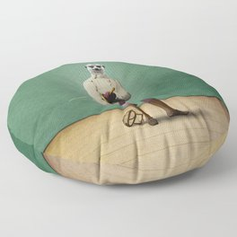 Milton Meerkat: Fencing Master Floor Pillow