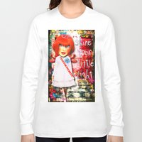 """sparkle Long Sleeve T-shirts featuring """"Sparkle"""" by Crow's Feet Designs2"""