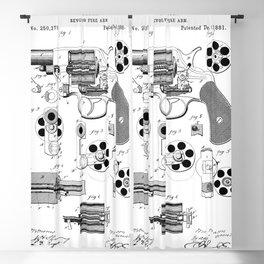 1881 Revolver Patent  Blackout Curtain