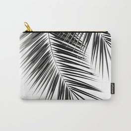 Black Palm Leaves Dream - Cali Summer Vibes #2 #tropical #decor #art #society6 Carry-All Pouch