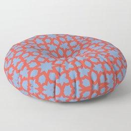 Moroccan Orange Floor Pillow